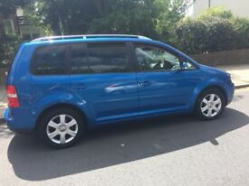 VW Touran 2005, 7 seater, cheap to run, if you want a trusty car this is not to be missed!