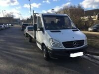 Mercedes sprinter recovery vehicle