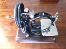 Willcox and Gibbs Sewing Machine (c1910)