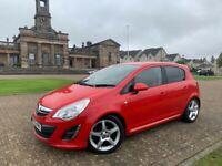 2012, Vauxhall Corsa Sri, 100 BHP, 65,200miles, 12 months MOT*, S/Hist x7, 5 Door, Petrol, Manual