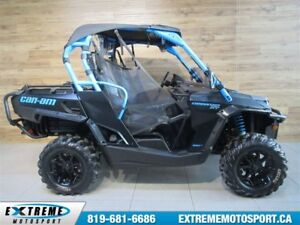 2016 Can-Am Commander 1000 XT 55$/SEMAINE