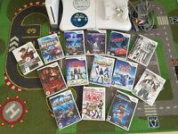 Nintendo Wii 14 games. Balance board. Controller. Sensor bar. All wires included