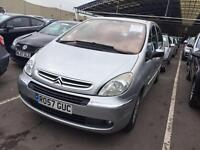 2007. Citroen XSARA Picasso Immaculate MOT. TAX LOW MILES. 1 Owner