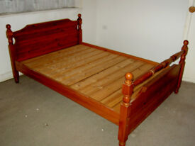Pine Double Bed Frame - Price jusr reduced!