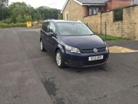 2012 12 facelift Volkswagen touran 1.6 tdi dsg 7 seater hpi clear 1 owner 2 keys fsh bargain £4999