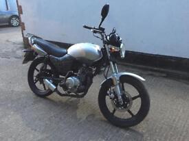 FULLY WORKING 2009 Honda YBR 125cc motorcycle learner legal 125 cc with 1 year mot.