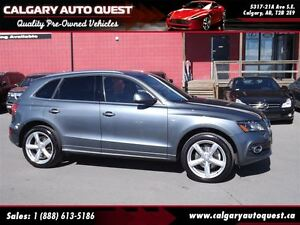 2012 Audi Q5 3.2 Premium Plus S-line AWD/NAVI/B.CAM/LEATHER