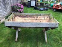 Garden Trough for growing vegetables