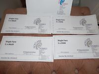 Orkney Ferry Tickets 2 Adult Singles 2 child singles Pentland Ferries Saving £18