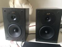 Gale speakers. Hardly used. Great sound. Compact.