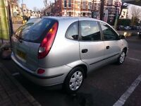 2004 Nissan Almera Tino 1.8 S 5dr Low Mileage Only 66,000 Miles!