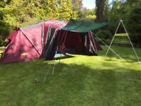 Khyam Rigi-Dome Espace Deluxe Tent 6 -8 berth Camping Dome Family Tent