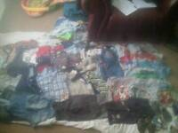 Bundle of boys clothes aged 3 months to 2 years