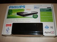 PHILIPS FREEVIEW RECEIVER - STILL IN BOX