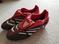 Adidas Predator Football Boots, mens size 7.5