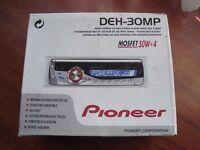 Pioneer CD/MP3/WMA DEH-30MP Car RDS stereo