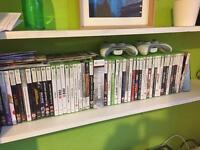Xbox 360 games + controllers + Kinect