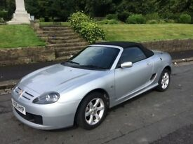2005 mg tf 1.6 petrol convertible