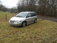 CHRYSLER VOYAGER EXECUTIVE SEVEN SEATER STUNNING CONDITION! FULL LEATHER!