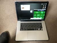 "2014 MacBook Pro Retina 15"" I7 16gb ram 256ssd"
