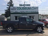 2014 Dodge Ram 1500 SLT, 4X4, 8 SPEED, 35KM