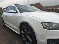 Audi A5 2.0 TDI S Line Quattro Special Edtion Ibis White