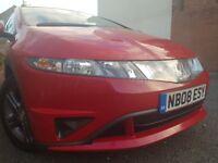 Honda Civic 1.4 i-DSI SE Plus Limited Edition, Full Main Dealer Servc His, Optional Extras, Long MOT