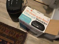 70sheet auto feeder paper shredder for sale