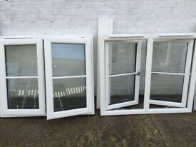 A pair of upvc windows (High quality)