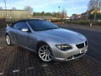 ((BMW 6 SERIES Convertible Sport 2006 FULL SERVICE HISTOR M SPORTS))