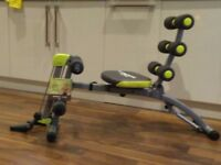 Wonder Core exerciser good for core muscles, 2 DVDs included for all round exercise at home