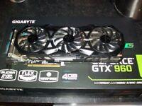 Gigabyte Geforce GTX 960 4GB OC edition Graphics Card