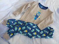 Boys Winter, Long sleeved, long legged, Brushed Cotton/fleecey PJ's, Age 5-6Yrs.