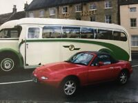 Classic Mazda MX5 mark one uk car