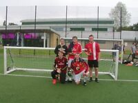 football players wanted for local 5aside team