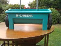 'GARDENA' LAWN & GARDEN SPREADER - USED