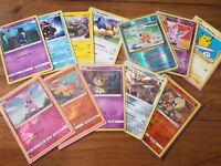 Large collection of pokemon cards, holos, rares