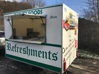Superb AJC Catering Trailer Burger Van 10ft x 6ft Immaculate And Clean