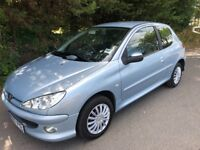 2007 PEUGEOT 206 1.4 LOOK 3 DOOR WITH AIR CON & ELECTRIC PACK