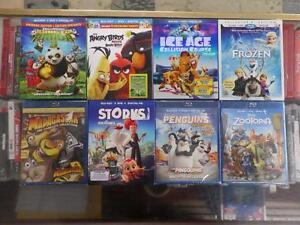Blu Ray Kids Movie Lot
