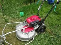 Proffesional petrol grass cuter/loan mower