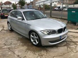 2007 BMW 116 ES 1.6 PETROL 6 SPEED MANUAL 5 DOOR, 2 KEYS HPI CLEAR