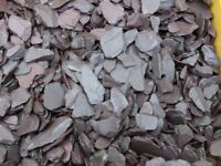 plum garden slate 20 40 mm comes in bulk bags free local delivery