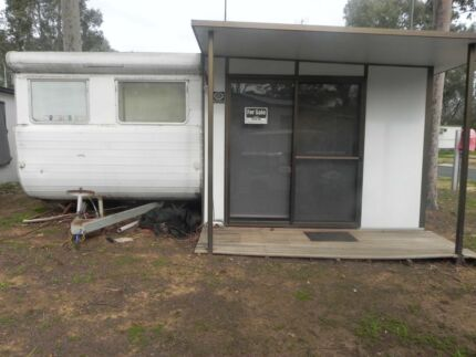On Site Van and Annexe Echuca Holiday Park