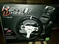 Madcatz xbox racing steering wheel