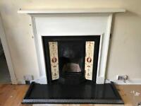 Fireplace & hearth