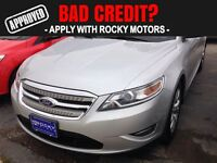 2010 Ford Taurus SEL  $65.97 A WEEK + TAX OAC - BAD CREDIT APPRO