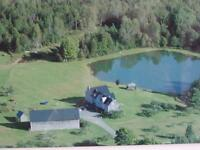 Large House, Barn/Garage/Workshop, Cottage and 533 Acres