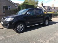 Toyota Hilux Invincible 62 Plate