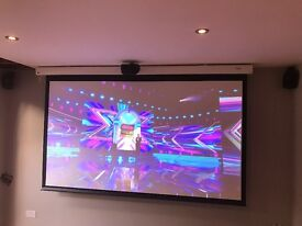 Complete High End Home Cinema Projection System and Pioneer Amp
